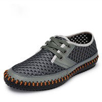 Breathable Men's Casual Summer Shoes  Sport Outdoor Mesh Shoes Walking Men Water Shoes zapatos hombre