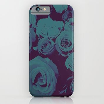 Mother May I -blue- iPhone & iPod Case by Ducky B