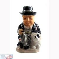 Little Winston Toby Jug , Toby Jugs , China