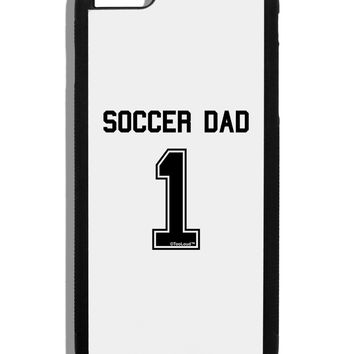 Soccer Dad Jersey Black Dauphin iPhone 6 Plus Cover by TooLoud