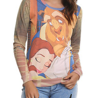 Disney Beauty And The Beast Girls Pullover Top | Hot Topic