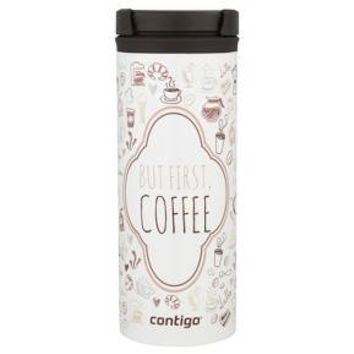 Contigo Twistseal® Eclipse Travel Mug, 16oz., But First Coffee