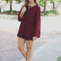 To the Vineyard Romper