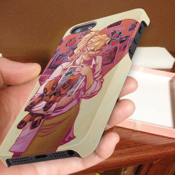 blonde, geek girl 3D iPhone Cases for iPhone 4,iPhone 4s,iPhone 5,iPhone 5s,iPhone 5c,Samsung Galaxy s3,samsung Galaxy s4