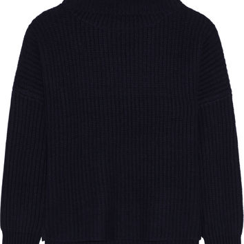 Rag & bone - Sarah ribbed cashmere and wool-blend turtleneck sweater
