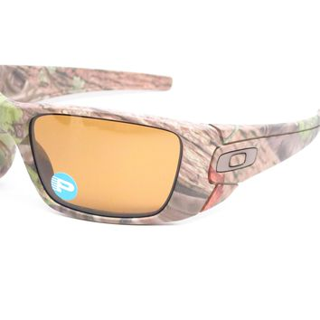 Oakley Fuel Cell OO9096-D9 Woodland Camo Polarized Sunglasses