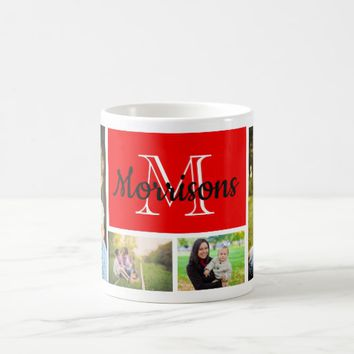 Custom, Family Photos (4). Coffee Mug
