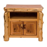 Traditional Cedar Television Stand