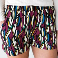 Stained Glass Printed Shorts