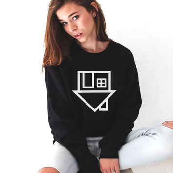 Sudaderas Mujer 2017 Sweatshirts Tumblr Women The Neighbourhood Letter Print Casual Pullover Long Sleeve Femme Hoodies Polerones