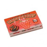 Juicy Jay's Raspberry Regular Size Wide Rolling Papers - Single Pack - Flavored Papers - Rolling Papers & Blunts - Rolling Accessories - Grasscity.com