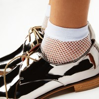 Free People Heartbreaker Net Anklet