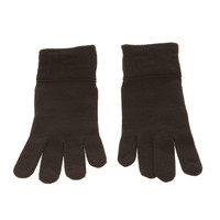 Fendi Knit Black Gloves