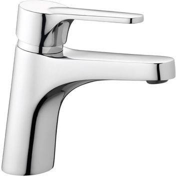 Eco Single Lever Handle Bathroom Lavatory Basin Faucet With Pop-up Drain