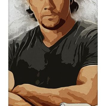 A Tribute To Mark Wahlberg Yoga Mat