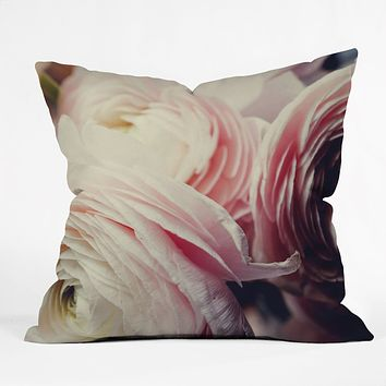 Chelsea Victoria Ranunculus Pop Throw Pillow
