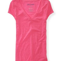 Aero Super-Soft V-Neck Tee - Aeropostale