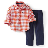 2-Piece Relaxed Shirt and Pant Set
