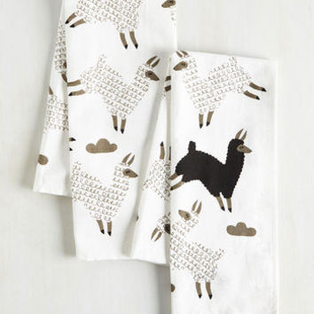 Alpaca a Punch Tea Towel Set by ModCloth