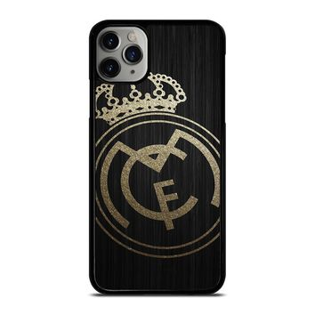GOLD REAL MADRID LOGO iPhone Case Cover