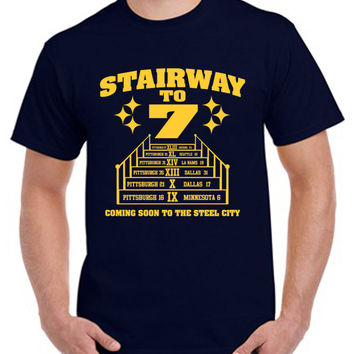 stairway to 7 tshirt