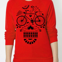 Day Of The Dead Bike Shirt