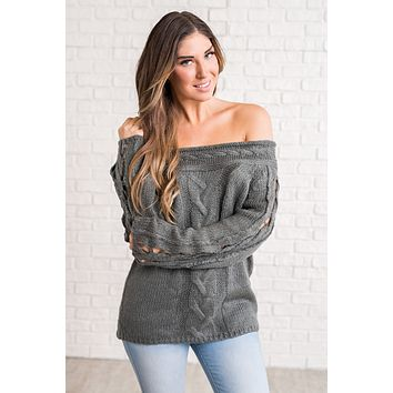 Maurice Knitted Sweater (Grey)