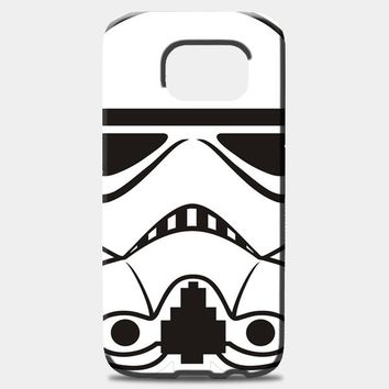 Stormtrooper Helmet Graphic Samsung Galaxy S8 Plus Case