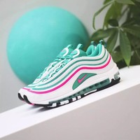 "Nike Air Max 97 ""South Beach"" Fashion Running Sneakers Sport Shoes"