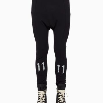 Leggings from the F/W2015-16 Boris Bidjan Saberi 11 collection in black