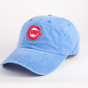 Mens Chicago Cubs New Raglin Adjustable Hat By American Needle