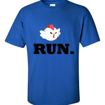 Cucco Run Legend of Zelda Design Men's T-shirt