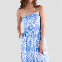 RIVERBEND PRINTED DRESS