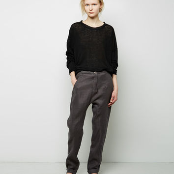 Linen Pant by Hachung Lee
