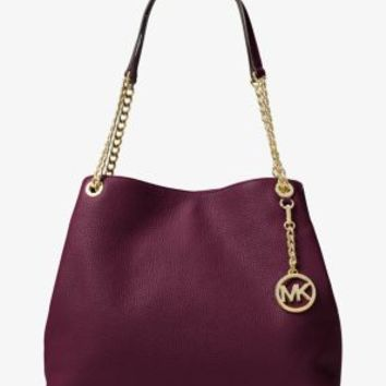 Jet Set Large Leather Shoulder Bag | Michael Kors
