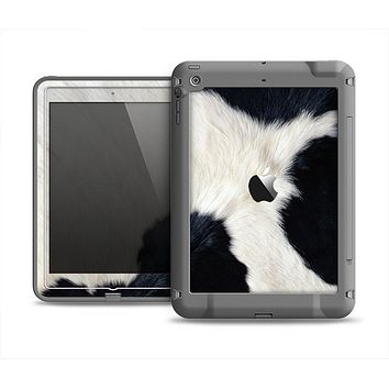 The Real Cowhide Texture Apple iPad Mini LifeProof Fre Case Skin Set