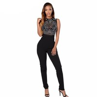 Sleeveless Jumpsuit Jumper Jumpsuits for Women Jumpsuit Rompers Sexy Jumpsuit