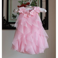 Summer Infant Clothing New Summer Toddler Baby Romper Dress Full Month And Year Baby Girls Princess Birthday Dresses Jumpsuits TR159