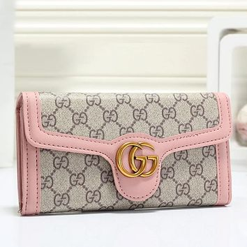 GUCCI Women Leather Wallet Purse