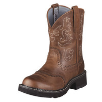 Ariat Fatbaby Saddle Brown Womens Western Boots