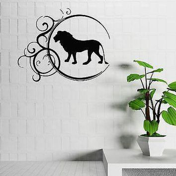 Wall Stickers Vinyl Decal Lion King Animal Cool Home Decor Room Unique Gift (ig755)