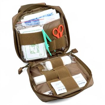 Medical EMT Cover First Aid Kit Survival Bag Tactical Multi Medical Kit Utility Tool Belt Pouch