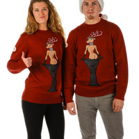 Ray J. and Kim K. Ugly Christmas Sweater