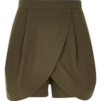River Island Womens Khaki smart skort