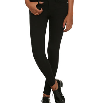Almost Famous Black Super Stretch Skinny Jeans