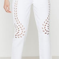 PacSun Cutout White Mom Jeans at PacSun.com