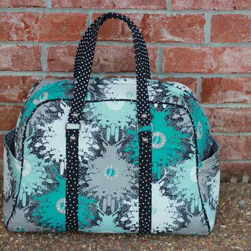 Weekend Travel Bag, Swoon Vivian, Overnight Bag, Weekender, Weekend Tote