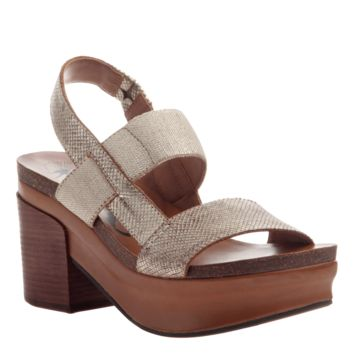 NEW OTBT Women's Sandals Indio in Gold