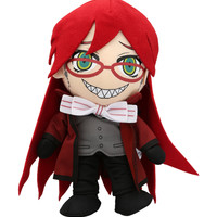 Black Butler Grell Plush | Hot Topic