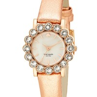 kate spade new york 'belvedere' crystal bezel watch, 24mm | Nordstrom